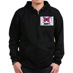 Butterfly - Abby Zip Hoodie