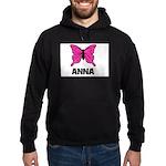 Butterfly - Anna Hoodie (dark)