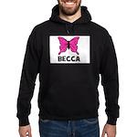 Butterfly - Becca Hoodie (dark)