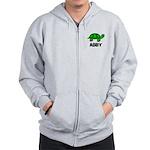 Abby - Customized Turtle Desi Zip Hoodie
