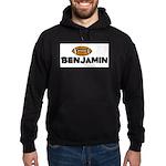 Benjamin - Football Hoodie (dark)