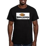Benjamin - Football Men's Fitted T-Shirt (dark)