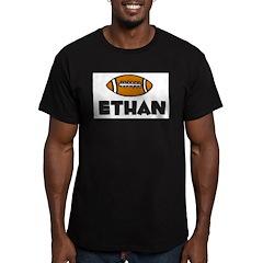 Ethan - Football Men's Fitted T-Shirt (dark)