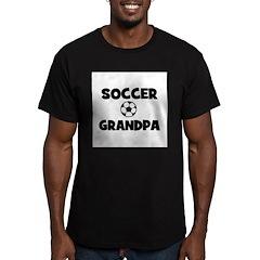 Soccer Grandpa Men's Fitted T-Shirt (dark)