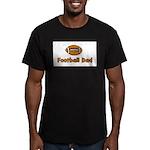 Football Dad Men's Fitted T-Shirt (dark)