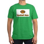 Football Mom Men's Fitted T-Shirt (dark)