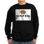 Football Baby Sweatshirt (dark)