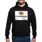 Football Baby Hoodie (dark)