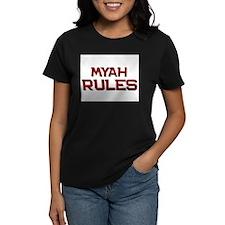 myah rules Tee