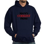 World's Coolest Papa! Hoodie (dark)
