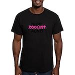 World's Coolest Aunt! Men's Fitted T-Shirt (dark)