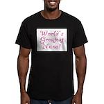 World's Greatest Nana! Men's Fitted T-Shirt (dark)
