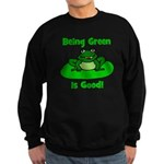 Being Green Frog Sweatshirt (dark)