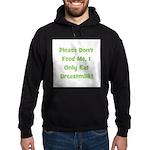 Don't Feed Me - Breastmilk On Hoodie (dark)