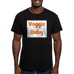 Veggie Baby Orange Men's Fitted T-Shirt (dark)