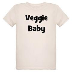 Veggie Baby Black T-Shirt