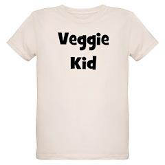 Veggie Kid - Black Organic Kids T-Shirt
