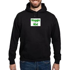 Veggie Kid - Green Hoodie (dark)