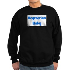 Vegetarian Baby - Multiple Co Sweatshirt (dark)