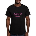 Matron of Honor Men's Fitted T-Shirt (dark)