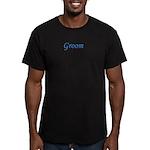 Groom Men's Fitted T-Shirt (dark)