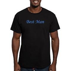 Best Man Men's Fitted T-Shirt (dark)