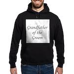 Grandfather of the Groom Hoodie (dark)