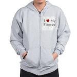 I (heart) My Fiancee Zip Hoodie