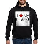 I (heart) My Husband Hoodie (dark)