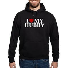 I Love My Hubby (heart) Hoodie