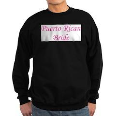 Puerto Rican Bride Sweatshirt (dark)