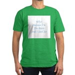 Because I'm The Bride and I S Men's Fitted T-Shirt
