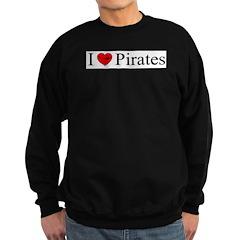 I heart Pirates Sweatshirt
