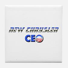 New Chrysler CEO Tile Coaster