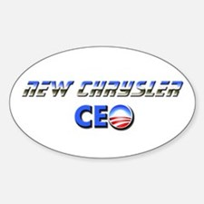New Chrysler CEO Oval Decal