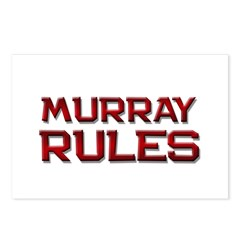 murray rules Postcards (Package of 8)
