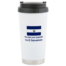 El Salvador Pupusas Travel Mug