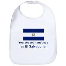 El Salvador Pupusas Bib