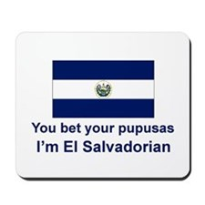 El Salvador Pupusas Mousepad