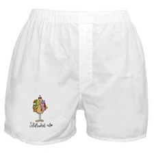 Scrapbooking Nut Boxer Shorts