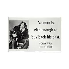Oscar Wilde 20 Rectangle Magnet (100 pack)