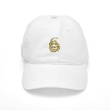 Dont Tread Snake Yellow Baseball Cap