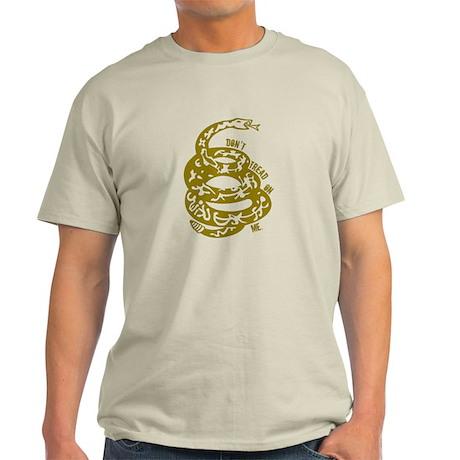 Dont Tread Snake Yellow Light T-Shirt