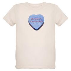 Blue Candy Heart - Mommy's Va T-Shirt