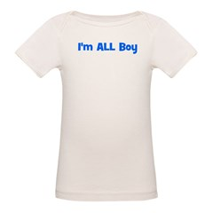 I'm ALL Boy! Blue Tee