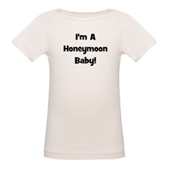 I'm A Honeymoon Baby! - Black Tee