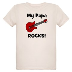 My Papa Rocks! (guitar) T-Shirt