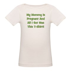 Mommy Pregnant green Tee