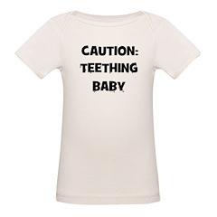 Caution: Teething Baby Tee