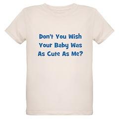 Baby Cute As Me - Blue T-Shirt